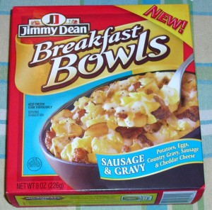 Sausage & Gravy Breakfast Bowl
