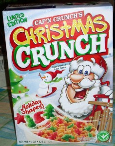 2009 Edition of Christmas Crunch cereal