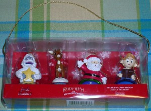 """""""Rudolph the Red-Nosed Reindeer"""" Ornaments"""