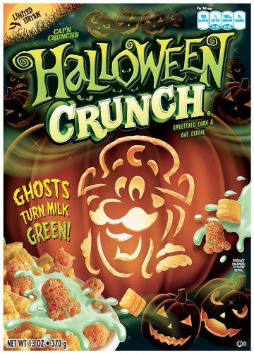 halloween crunch is a holiday themed cereal that i have unfortunately not had the chance to eat i only heard about it a couple of weeks ago from - Captain Crunch Halloween