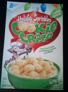 Holiday Sprinkle Cookie Crisp